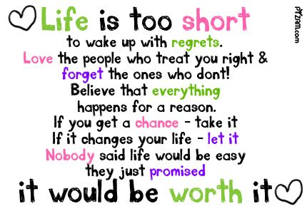 So true...Nobody said life would be easy...they just promised it would be worth it!  Make life worth it today!