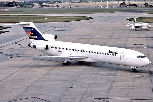 Ansett Boeing 727-277 (VH-RMY)