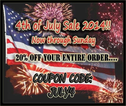 4th of july sale coupons