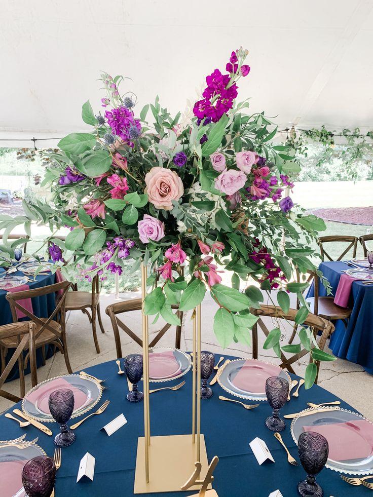 39++ Wedding flower stand design info