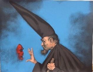 Espejismo de Rafel Coronel reconocido pintor mexicano
