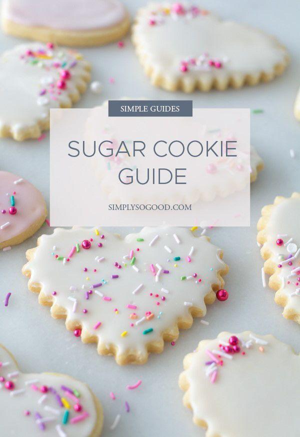 Sugar Cookie Guide Cutout Sugar Cookies Sour Cream Sugar Cookies Perfect Sugar Cookies