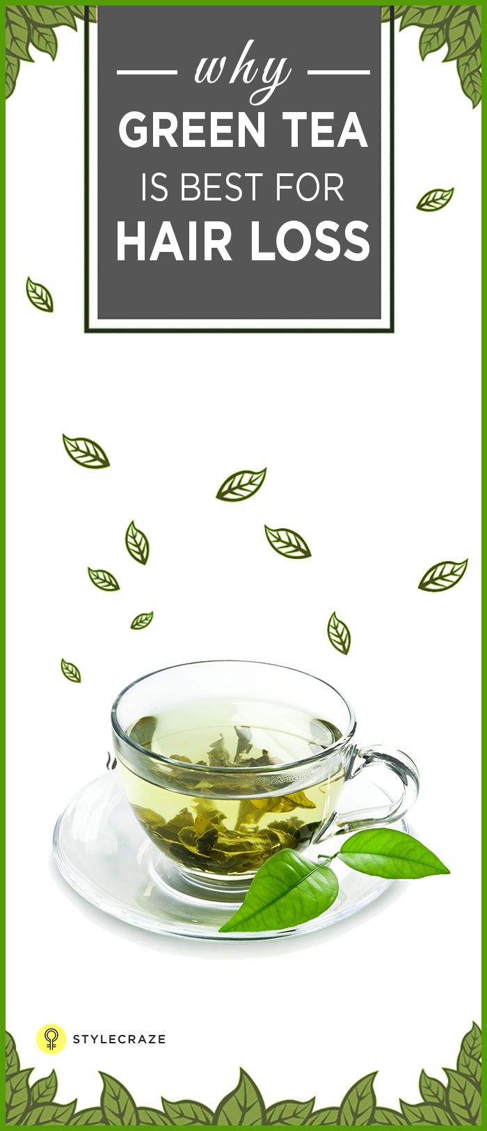 "Have you been wondering ""what's all this fuss about green tea for hair loss?"" Now you can stop wondering and start drinking green tea because green tea has the potential to fight with the problem of hair loss. Yes, this may sound a bit farfetched, but it is true. Read on to know more! #HairLoss"