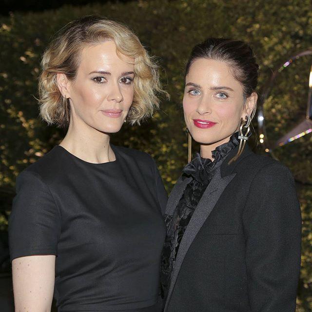 Sarah Paulson and Amanda Peet