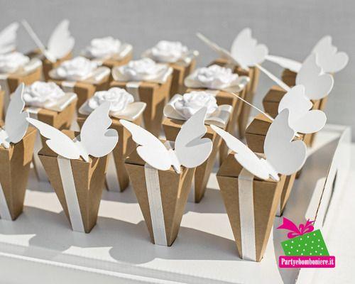 Matrimonio.it   #Cono #portaconfetti #matrimonio #farfalle #wedding