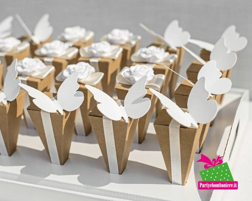 Matrimonio.it | #Cono #portaconfetti #matrimonio #farfalle #wedding
