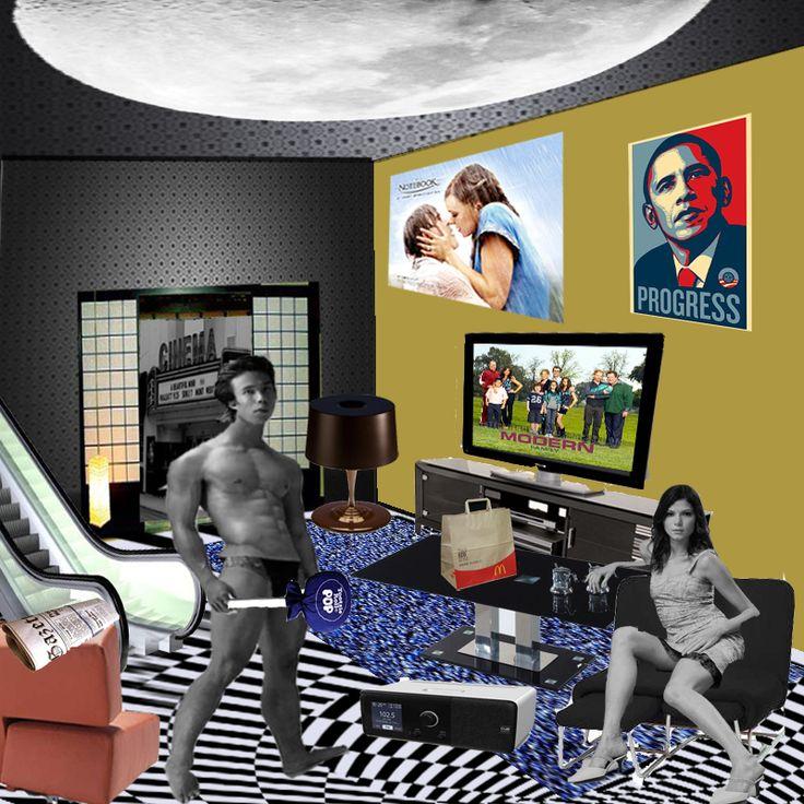 richard hamilton artist | Richard Hamilton-Pop Art Remake of Just What... by KennethChan on ...