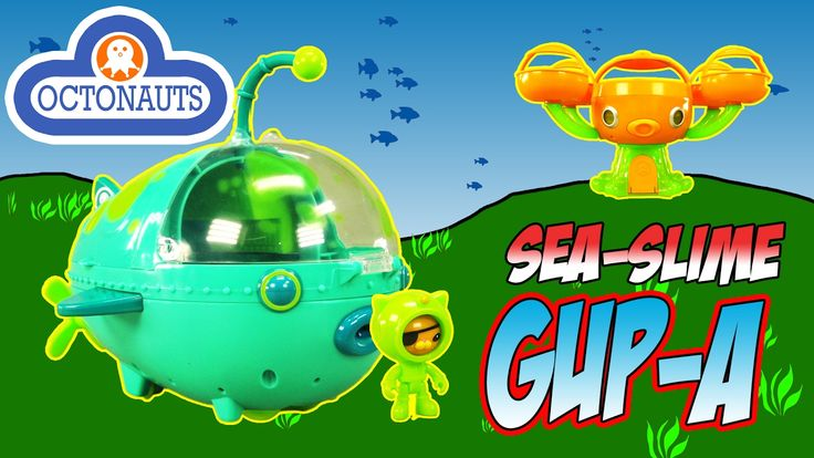 THE OCTONAUTS TOY REVIEW - Sea Slimed Gup-A Octopod Adventure Playset