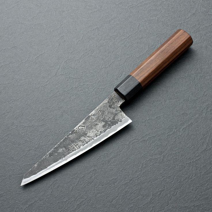 """Takeda Aogami Super Honesuki - 150mm (5.9"""")   Chubo Knives"""