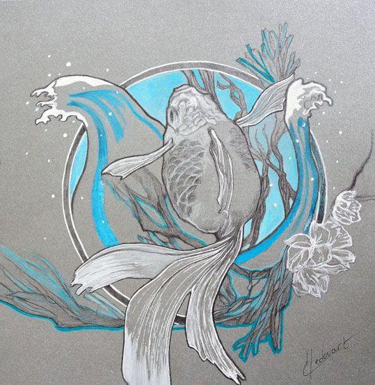 mine de plomb,encre, cire aquarellable sur papier/19x19cm 2016