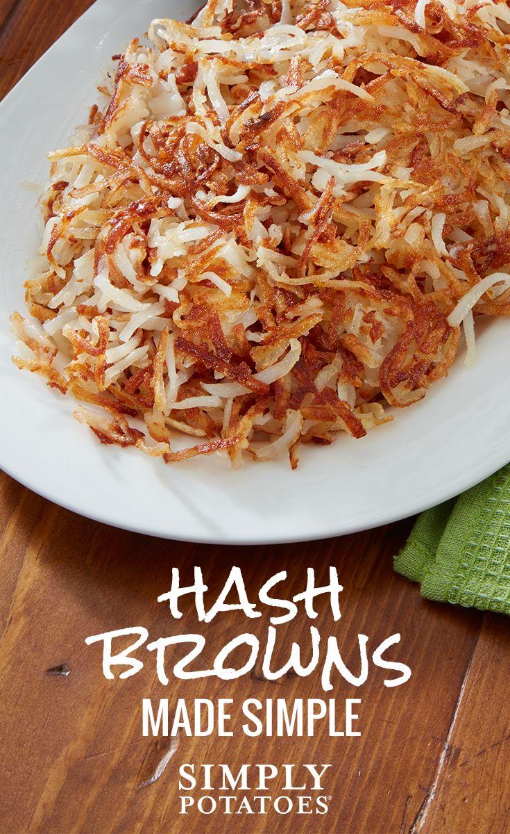 how to make crispy hash brown potatoes