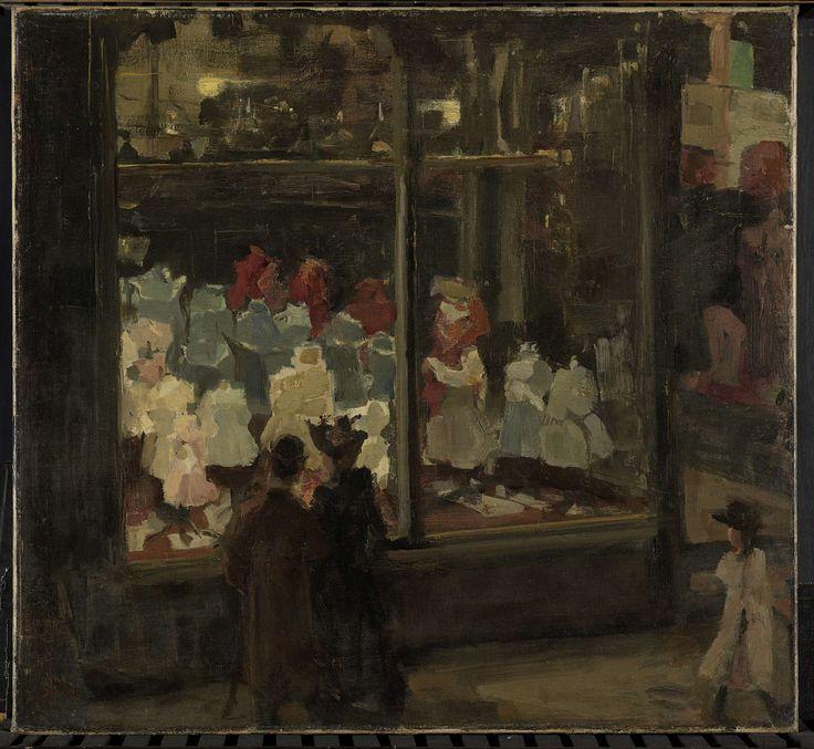 Shop Window, Isaac Israels, 1894