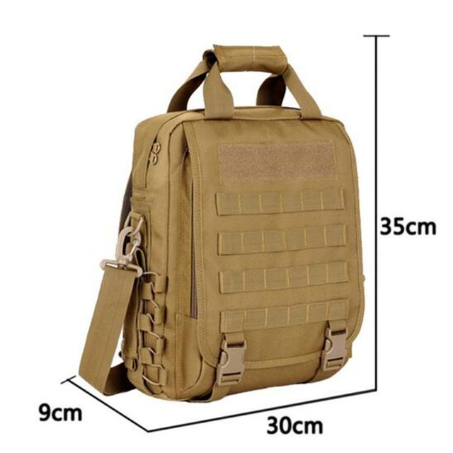 Check current price Men's bags tactics leisure shoulder bag is waterproof 14 inch chest dedicated men and women laptop bag travel packages just only $32.79 with free shipping worldwide  #backpacksformen Plese click on picture to see our special price for you