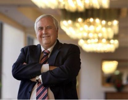 Clive Palmer, Head of PUP https://twitter.com/CliveFPalmer
