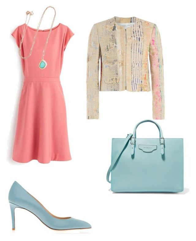 Pastels by the925editor on Polyvore featuring RetroSuperFuture, MSGM, Balenciaga and BROOKE GREGSON