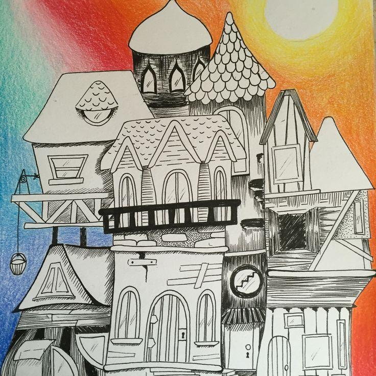 Tira libe y lápices de colores #mavitz