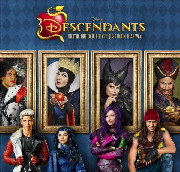 Descendants Mal Dress Up : Mal is one of the main characters of the Disney Channel Original Movie, Descendants. Description from howtodrawcartoons.org. I searched for this on bing.com/images