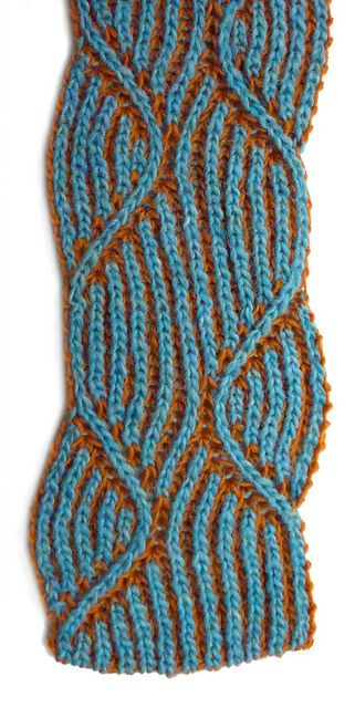 Ravelry: Jacki Revisited Icelandic Style (brioche) pattern by Nancy Marchant