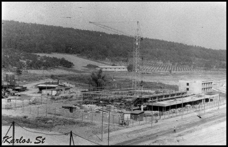 Sídliště Březenecká - výstavba sportovní haly