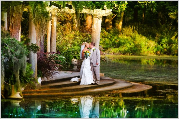 Wedding At Airlie Gardens In Wilmington Potential Shoot Location For Bridals The Gardens