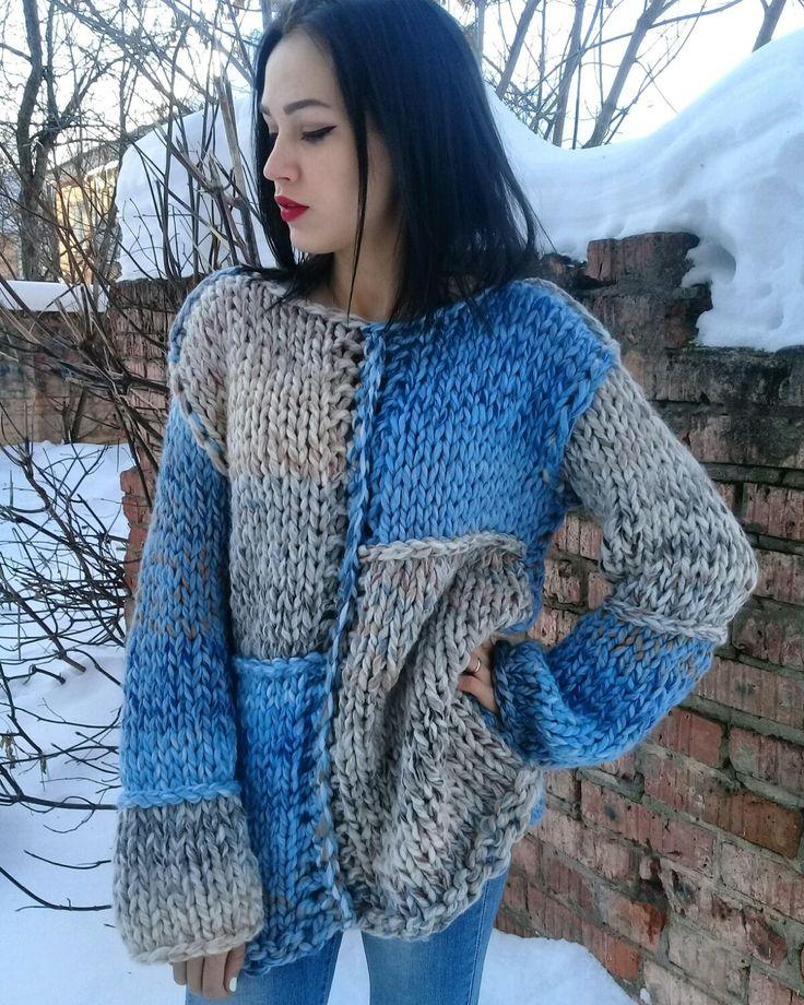 Кофты и свитера ручной работы. свитер бохо , оверсайз. Эксклюзивное вязание. Ярмарка Мастеров. Стиль, продам, свитер бойфренд, спицы