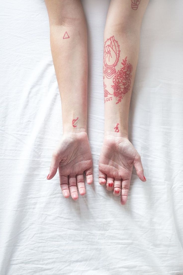 This is such a cool idea. Too bad I've sworn I'll only get black tattoos