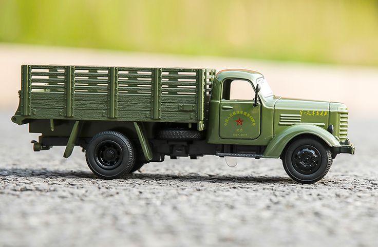 1:36 FAW military alloy trucks model,Toys&Hobbies