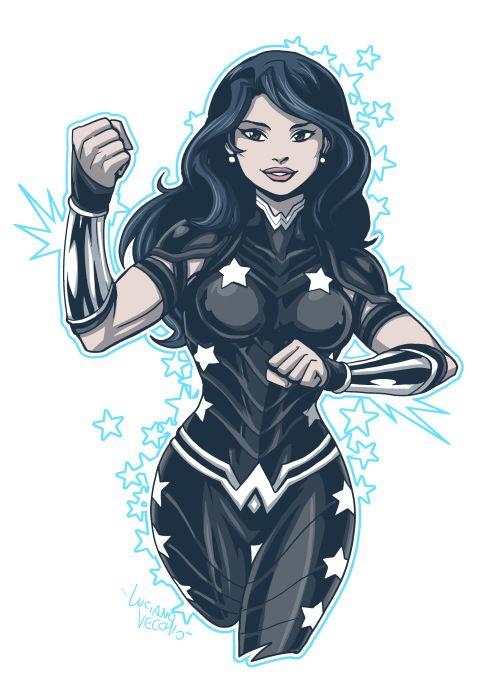 """[Animation 4ML] """"Ici Nightwing. J'appelle d'Ivy Town... une Héroïne vient de disparaître, comme Superman.  Aidez-moi !"""" [LIBRE] A610581d95bec9a57e38df148fb9d5c7--donna-troy-donna-derrico"""