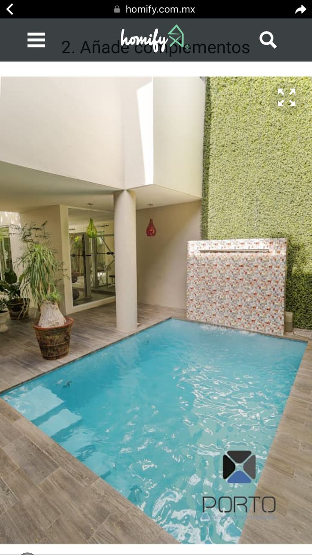 Las 25 mejores ideas sobre piscinas del patio trasero - Patios modernos pequenos ...