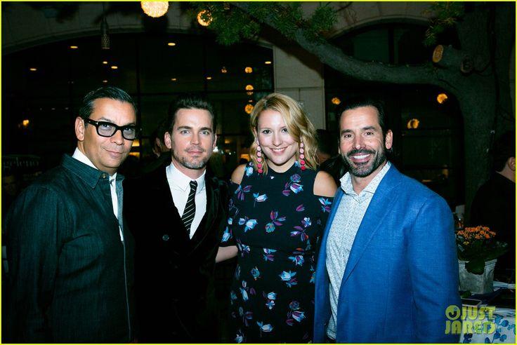Matt Bomer Celebrates 40th Birthday Early with Hubby Simon Halls at 'Modern Luxury' Party!
