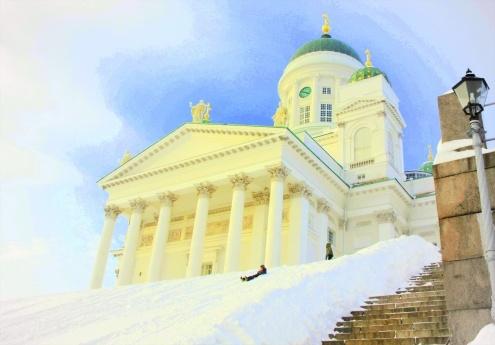 The Helsinki landmark