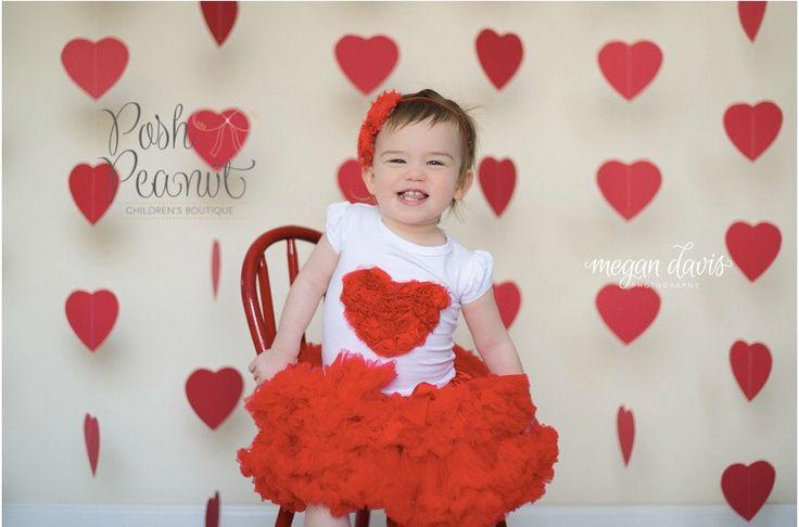 Baby Valentine outfit- Valentine Tutu- Girls Valentines outfit - Baby valentine dress - Girls Valentine Dress- my first valentine- red tutu by PoshPeanutKids on Etsy https://www.etsy.com/listing/175897952/baby-valentine-outfit-valentine-tutu