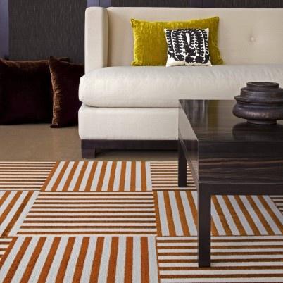 Flor Carpet Tiles   For Under Kitchen Table