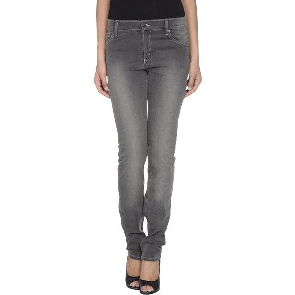 Cheap Monday Jeans ($42) ❤ liked on Polyvore featuring jeans, lead, denim trousers, stretchy skinny pants, zipper pants, denim pants and skinny trousers