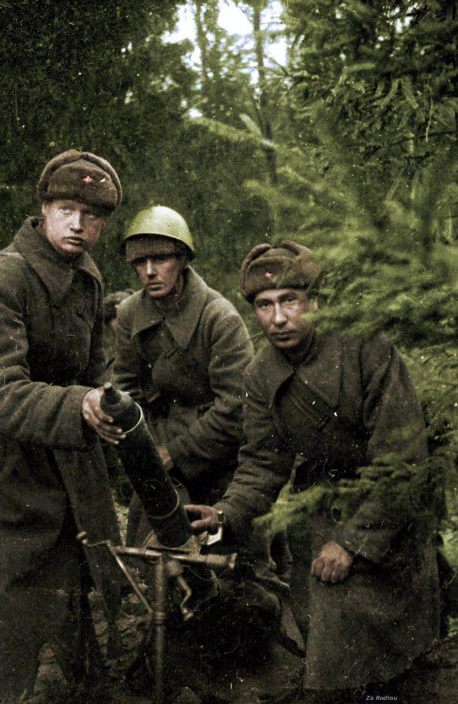 Sovetskie Minometchiki V Period Velikoj Otechestvennoj Vojny