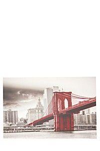 BROOKLYN BRIDGE 60X90CM WALL ART