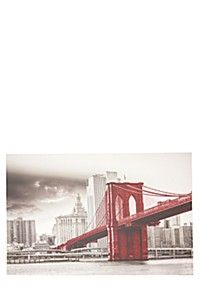 BROOKLYN BRIDGE 60X90CM WALL ART