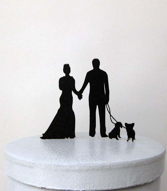 We can personalize your wedding cake topper