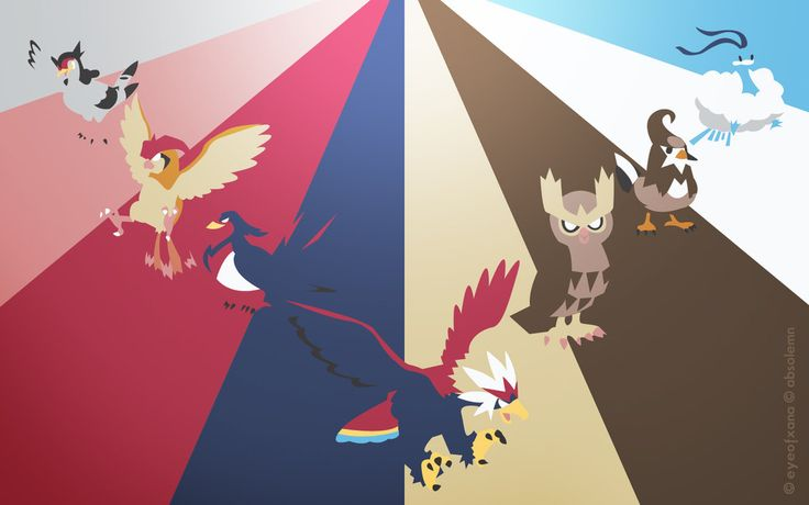 Pokemon Spectrum - Flying by EYEofXANA on deviantART