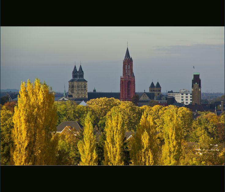 Autumn skyline Maastricht Maastricht - Zuid-Limburg - the Netherlands
