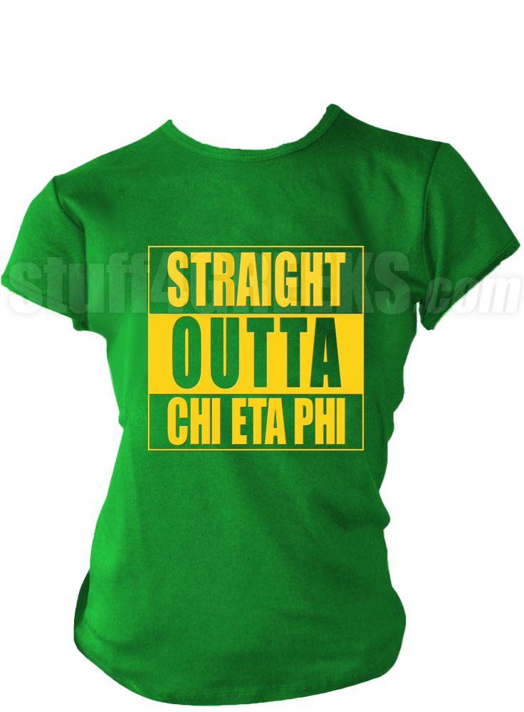 Image result for straight outta chi eta phi