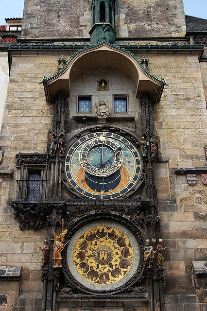 Astronomical Clock; Prague, Czech Republic