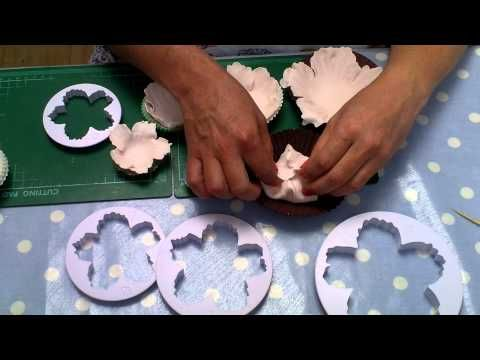 How to make an easy  Peony Flower using all in one cutter