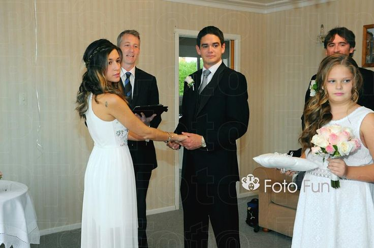 Mark & Daniela´s Wedding- celebration in NZ with family from Chile