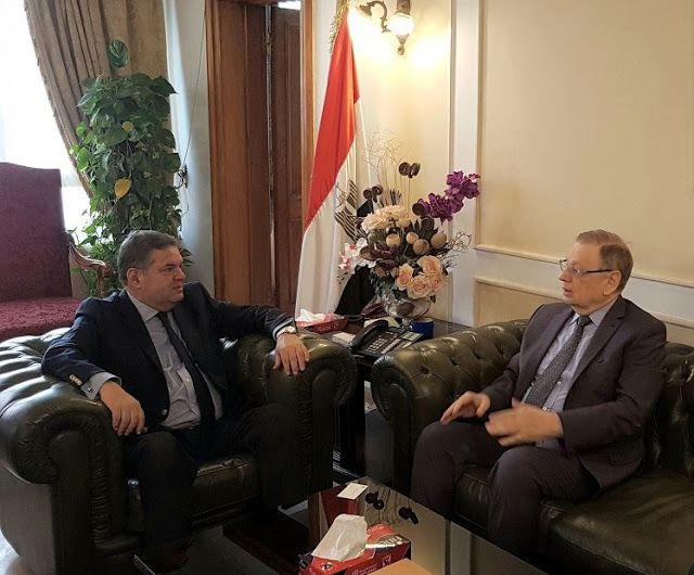 وزير قطاع الأعمال العام يبحث مع السفير الروسي بالقاهرة تعزيز التعاون المشترك Places To Visit Visiting Scenes