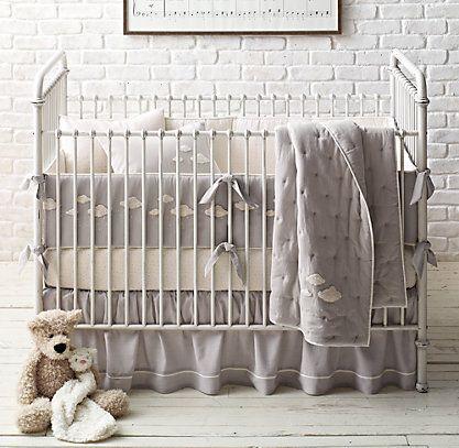 Bouclé Cloud Nursery Bedding Collection   RH baby&child