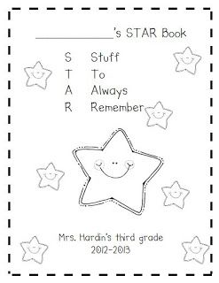 Susan Hardin's Free Cover for student Binders - get your freebie at www.3rdgradegrapevine.blogspot.com