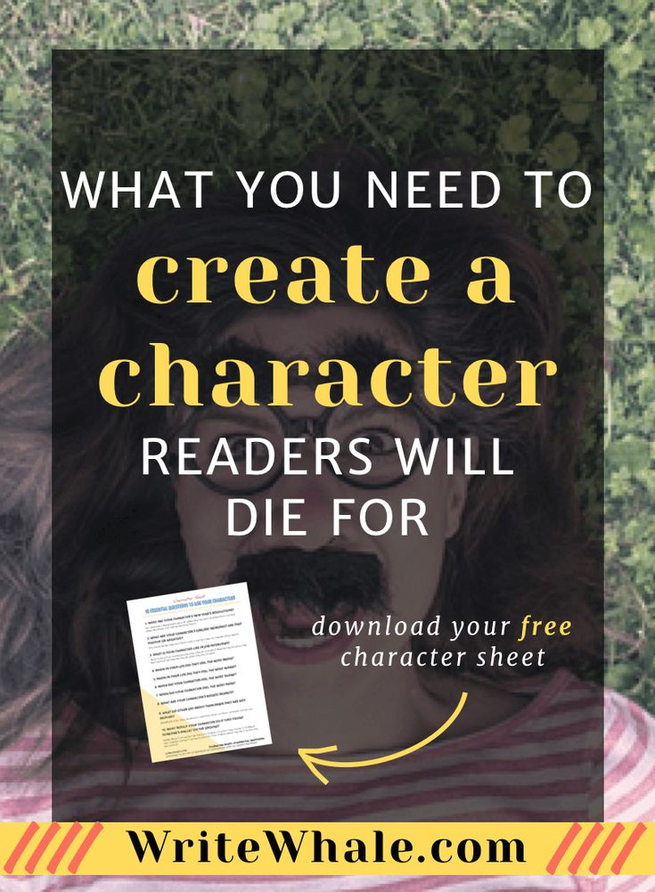 Click through + get the free character sheet! 10 *essential* questions to ask to figure out the heart of your character. Writing advice | character sheet | how to create a character | writing tips | free writing worksheets via @lizrufiange