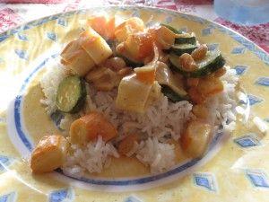 Riz asiatique aux Corayas -- Recettesexpress.com