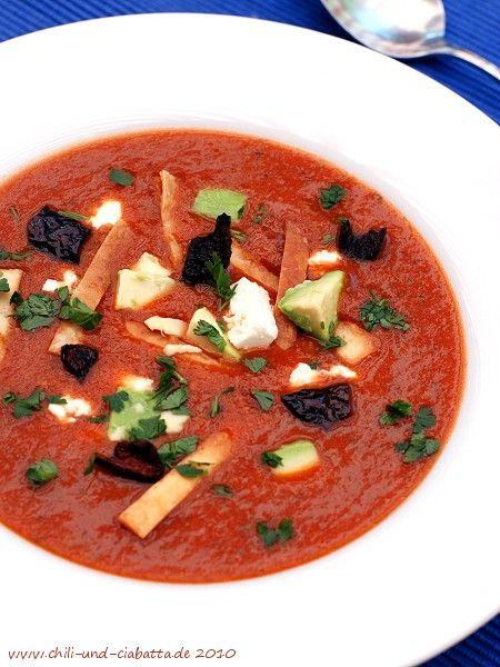 Chili und Ciabatta: Mexikanische Tortilla-Suppe